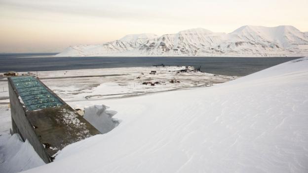 The Svalbard Global Seed Vault (Credit: Credit: Daniel Sannum Lauten/AFP/Getty)