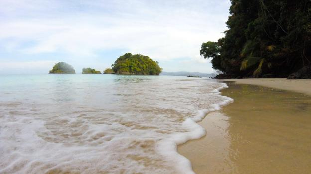 Isla Rancheria, an uninhabited island in Coiba