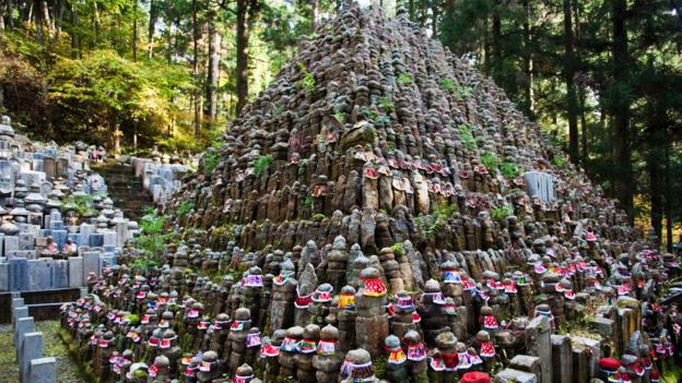 200,000 monks are buried at Okunoin Cemetery (Credit: Credit: John Lander/Alamy)