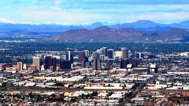 With the exception of Yuma, Phoenix sees more sunny days than any other city in the world (Credit: Credit: DGustafson/Wikipedia)