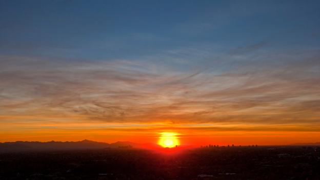 Phoenix has flaming sunsets (Credit: Credit: Simon Margetson/Alamy)