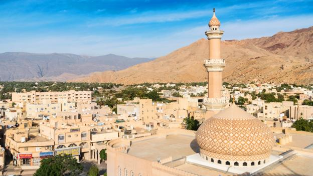 The people of Nizwa have a sunny disposition that matches their city's weather (Credit: Credit: Iain Masterton/Alamy)