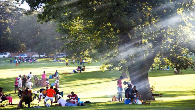 The sunny weather means the people of Johannesburg can always enjoy outdoor activities (Credit: Credit: Margaret S/Alamy)