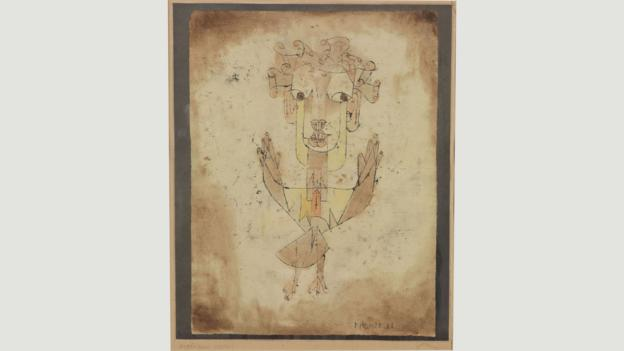 Angelus by Paul Klee (Credit: Credit: The Israel Museum, Jerusalem)