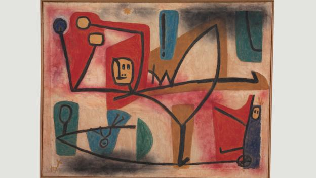 Paul Klee's 1939 painting Arrogance (Credit: Credit: Zentrum Paul Klee)