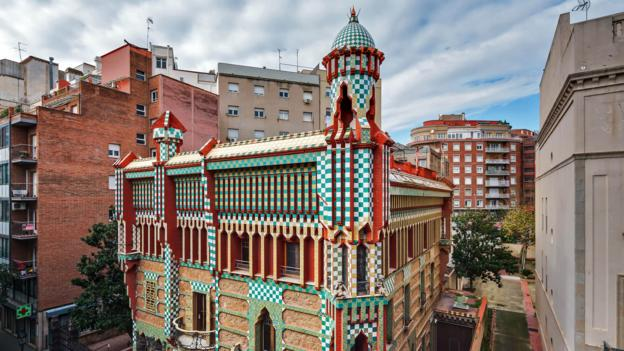Bbc travel a first glimpse of gaudi s unseen house for Casa vicens gaudi