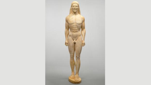 Greek kouros (Credit: Getty's Open Content Program)