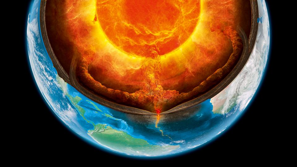 BBC - Earth - How we know what lies at Earth's core Real Ocean Trenches