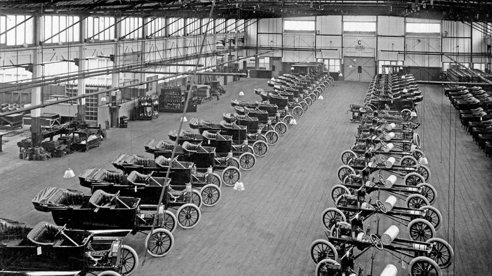 Ford Model T Assembly