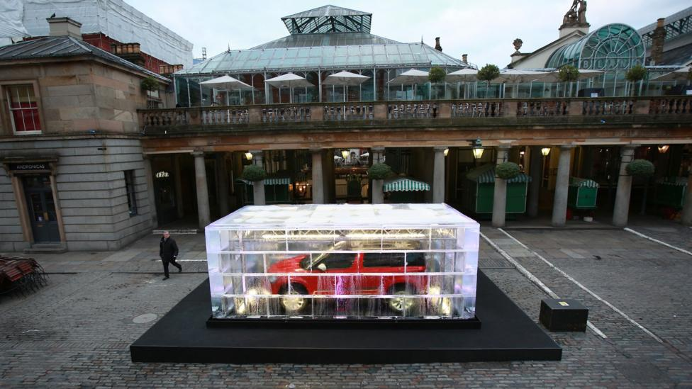 In London, Skoda puts a Yeti on ice