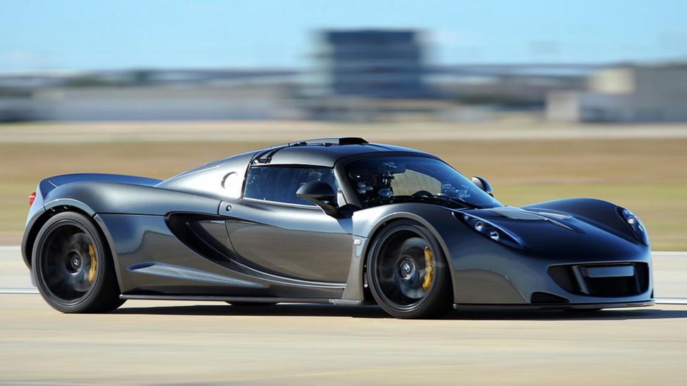 The Hennessey Venom GT uses Pennzoil's natural-gas-based oil formulation. (Hennessey)