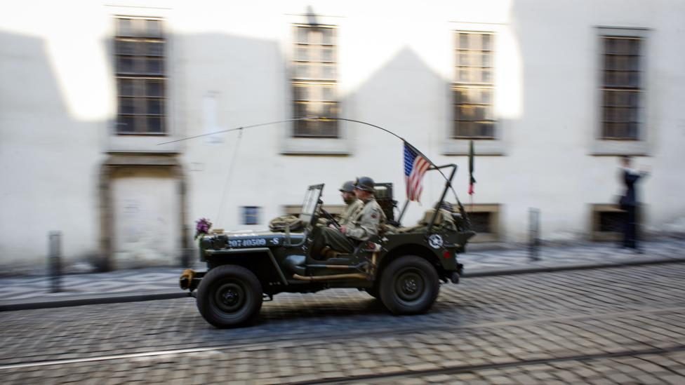 In Prague, remembering the 'Convoy of Liberation'