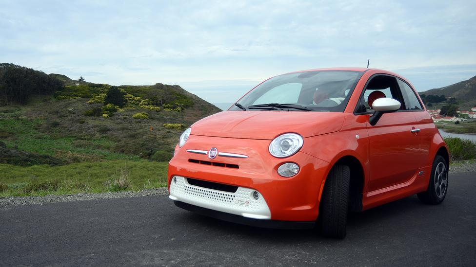 Stellar, but unloved by its maker. The Fiat 500e. (Nick Czap)