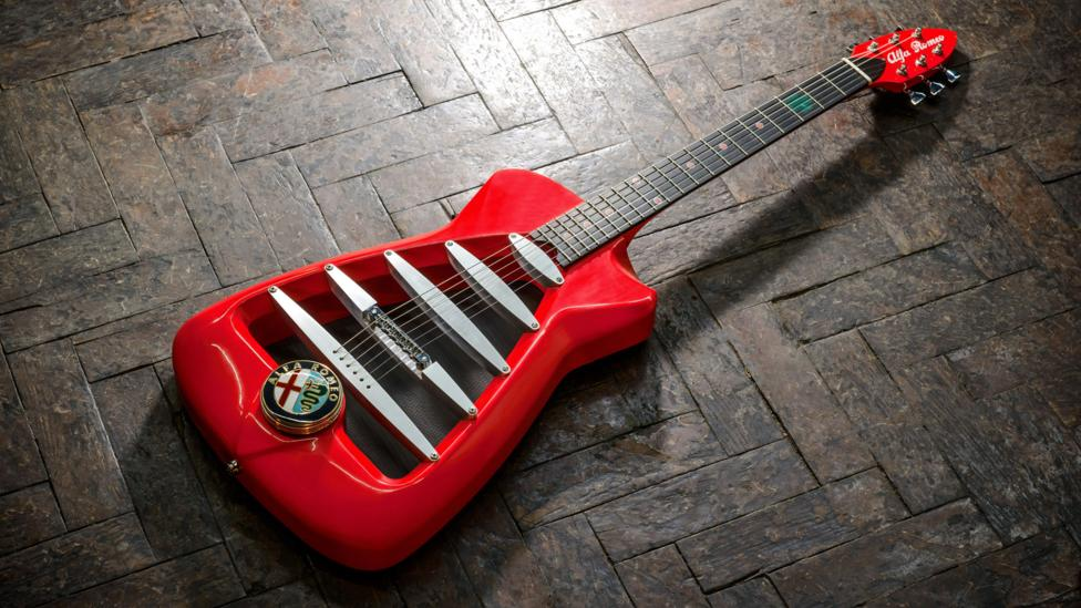 The Alfa Romeo by Harrison Custom Guitars