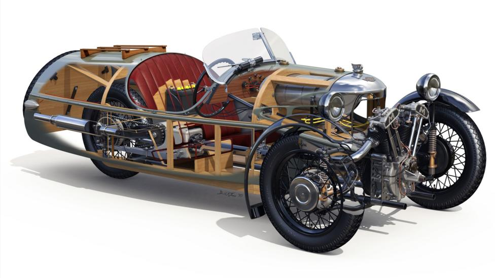 bbc autos top mog the improbable triumph of the morgan 3 wheeler. Black Bedroom Furniture Sets. Home Design Ideas