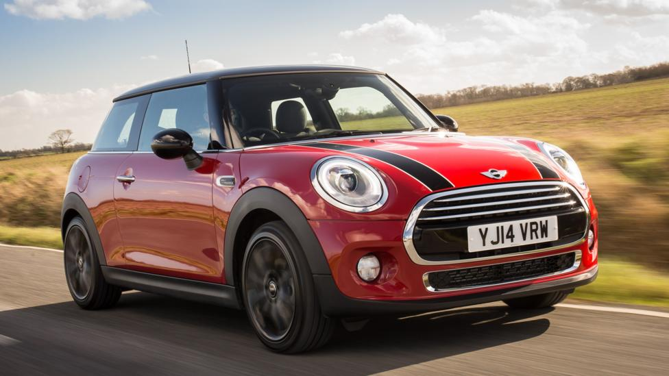 The 2015 Mini Cooper S, a car with surprising head- and legroom. (BMW Group)