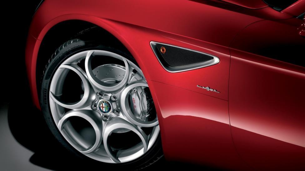 Alfa Romeo 8C Competizione. (Fiat Group)