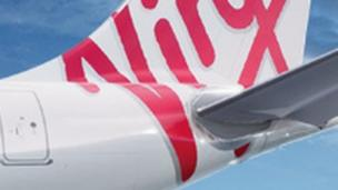 Virgin Australia posts an after-tax loss of A$355.6m ($332.6m; £200.5m) for the full year ending in June, triple the firm's previous year's losses for the period.