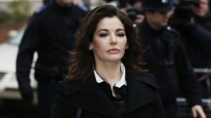 TV cook Nigella Lawson has admitted taking cocaine but denies being an addict, while giving evidence in court.