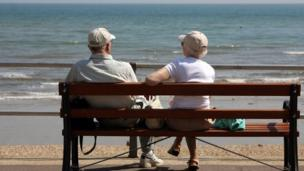 The government plans to bring forward the date when the state pension age is raised from 65 to 68, Chancellor George Osborne will announce later.