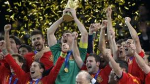 Spain will open their defence of the World Cup against 2010 finalists Netherlands at next year's tournament in Brazil.