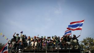 Thai Prime Minister Yingluck Shinawatra dissolves parliament and calls an election, after sustained protests in Bangkok.