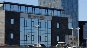 Four former bosses from the Icelandic bank Kaupthing are sentenced to prison in the heaviest sentences for financial fraud in Iceland's history.