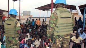 The United Nations says it fears casualties after attackers forced their way into a UN peacekeeping base in South Sudan's Jonglei state.