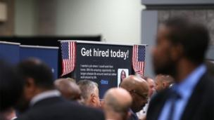 The US economy added 175,000 jobs in February, figures show, but the unemployment rate rose to 6.7%.