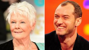 Dame Judi Dench and Jude Law are among the nominees in the running for this year's Olivier Awards, one of the most high-profile events in the UK theatre calendar.