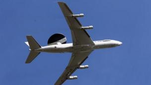 Nato announces it will deploy Awacs reconnaissance planes in Poland and Romania to monitor the crisis in Ukraine.