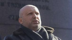 Russia's leaders are refusing all negotiations with their Ukrainian counterparts, Ukraine's acting President Oleksandr Turchynov says.