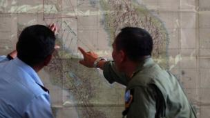 Malaysia says the last message from a Malaysia Airlines plane suggest everything was normal on board before it vanished over the South China Sea.