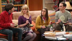 Long-running US sitcom The Big Bang Theory is extended for a further three series, broadcaster CBS announces.