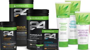 US regulators launch an investigation into nutrition and weight-loss firm Herbalife, following allegations it has been operating a 'pyramid scheme'.