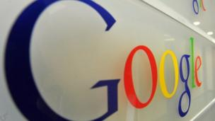 Shares in Google fall 5% despite reporting first-quarter profit of $3.45bn in response to worries over future income from advertising.