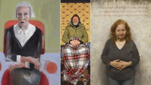 Three artists are shortlisted for the BP Portrait Award 2014, for work featuring a homeless man, a reluctant mother and a mature fashionista.