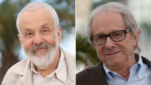 Veteran British directors Mike Leigh and Ken Loach see their new films selected for competition at this year's Cannes Film Festival.