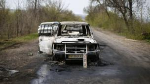 Ukraine says it will launch an investigation into a fatal shooting in the east of the country which has raised tension with Russia further.