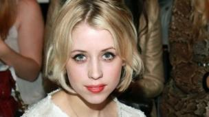 Sir Bob Geldof will pay tribute to his daughter Peaches later, as her funeral is held at the same church as where she married in Kent.