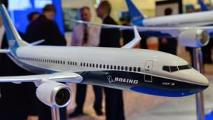 "US aerospace giant Boeing earnings rise 52%, boosted by a ""strong"" quarter for commercial aircraft sales."