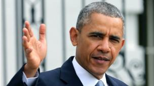 US President Barack Obama tells Japan that islands it disputes with China are covered by a bilateral defence treaty, as he begins an Asian tour.