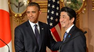 US President Barack Obama restates support for Japan over disputed islands but warns that dialogue - not escalation - is the way forward.