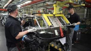 Activity in the UK's manufacturing sector grew at its slowest pace for 14 months in August, a survey finds, while a separate study also suggests a slowdown.