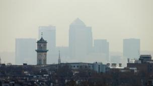 The air quality in some of the UK's biggest cities is unlikely to meet EU standards before 2030 according to the government.