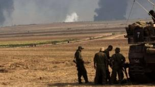 An Israeli soldier is missing in Gaza and is presumed dead, Israeli media quote officials as saying as the military continues its ground offensive.