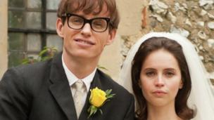A trio of major British films are to receive their world premieres at this year's Toronto Film Festival, including Stephen Hawking biopic The Theory of Everything.