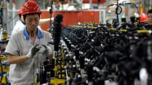China's manufacturing activity grows at its fastest pace in 18 months in July, an initial survey by HSBC shows, the latest sign that its economy may be stabilising.