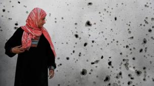 A 12-hour truce is observed in Gaza as diplomats seek longer Israel-Hamas ceasefire, and the scale of damage in Gaza becomes clear.