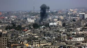 A lull in violence in Gaza is shattered as deadly explosions hit the Palestinian territory's main city and southern Israel.